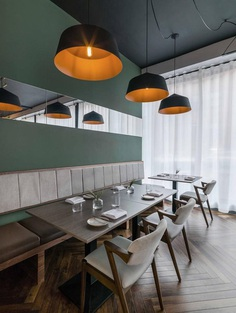 Folium Restaurant in Birmingham City Centre / Faber Design 6