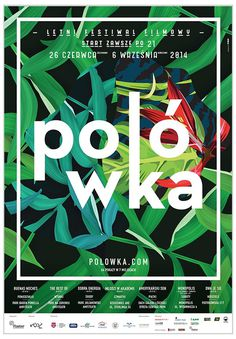 Polowka 2014 #design #graphic #poster #typography