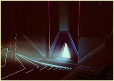 KILIAN ENG / DW DESIGN #retro #futuristic #scifi #glow #kilian #eng