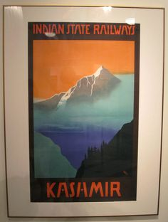 photo #railways #indian #vintage #poster #state
