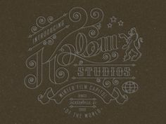 Dribbble - Sketch II by Kendrick Kidd #studios #kalem #sign #jacksonville #film #type