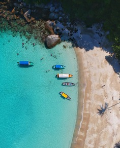 Aerial view Photography Perhentian Islands, Malaysia