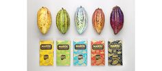 Marou Faiseurs de Chocolat by Rice Creative via www.mr cup.com #branding #design #cocoa #food #chocolate #product #bean
