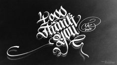 calligraphi.ca   facebook fan thanks   calligraphy pen and pencil   theosone