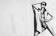 BW Fashion Photography by Szymon Brodziak