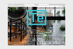 Techné Architecture by Alter #website #web design