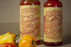 Bob's Tasty Habaneros Typography |Â Serifs & Sans #package