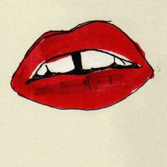 1022 | Flickr: Intercambio de fotos #teeth #aijon #beso #dientes #illustration #labios #jorge #mouth #kiss