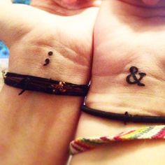 30 INSPIRATIONAL SEMICOLON TATTOO DESIGNS