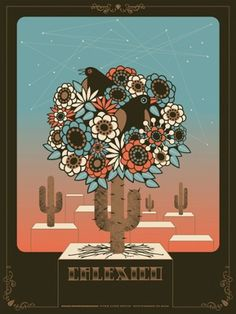 Florafauna Posters Pt.1 on the Behance Network #calexico