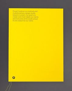 Proud Creative – SI Special | September Industry #print #book #typography