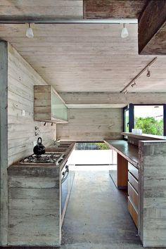 Kitchen raw furniture