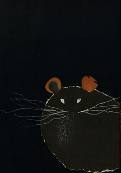 50 Watts #abstract #mouse #hamster #illustration #surreal #dark