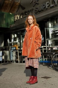The Sartorialist #fashion #redhead #ginger #girl