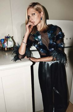 Iselin Steiro for Vogue Paris #fashion #model #photography #girl