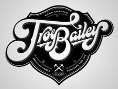 Assorted Monochromatic Type Logos #lettering #design #type #logo #typography