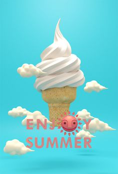 ENJOY SUMMER on Behance #ryeery