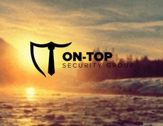 On-Top by Everlong Design #security #branding #negative #top #space #shield #on #nature #identity #logo #tie