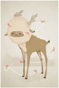 Little deer #ai #little #illustration #deer