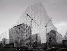 Franz Riedl - Architekturerweiterungen (2012) Raiffeisenbank #urban #graphic