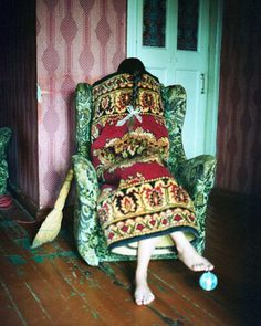 Alena Zhandarova Creates Domestic Scenes and Self Portraits