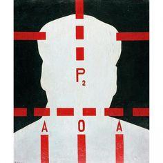 Wang Guangyi, Mao Zedong, P2 (HK$1.5-2m) HK$19.14m - Art Market Monitor #guangyi #wang #mao #painting #art #zedong