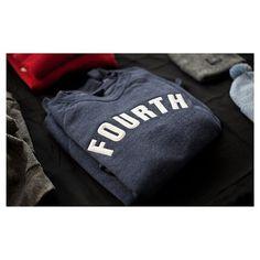 Fourth is King crew sweatshirt #branding #sweatshirt #streetwear #fashion #applique