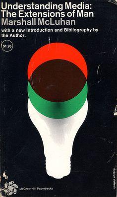 Book, book cover, marshall mcluhan