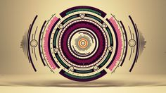 """Short movie """"Pure Geometry"""" by Romanowsky on Behance #illustration #vector #geometry"""