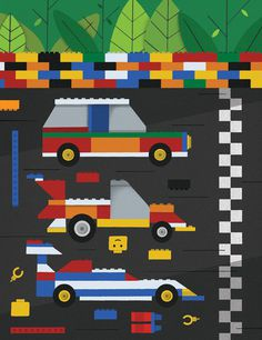 Oh comely lego racing #graphic