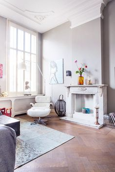gray half way / sfgirlbybay #interior #design #decor #deco #decoration