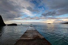 Millendreath Beach Looe at High Tide by Rosie Spooner