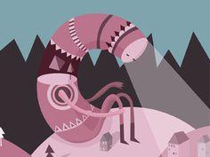 Forest Monster - Ingunn Dybendal