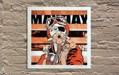 MayDay-Final #adam devareny #mayday #screen print