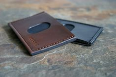 SLIMplistic Wallet #gift #mens #wallet #lather