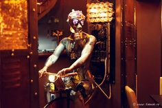 Steampunk-Themed Bar
