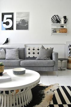 Living room interior #interior #couch #design #living #room