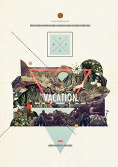 island Vacation Art Print by Dawn Gardner | Society6 #island #vacation #collage