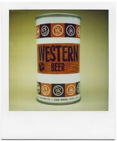 All sizes | Western Beer | Flickr - Photo Sharing! #packaging #can #vintage
