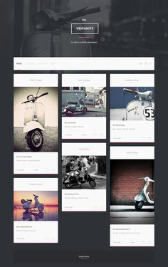 Vespa_page #web #blog