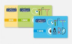Capello - Gift card Capello Centri Vista - 2011 #gift #card #illustration
