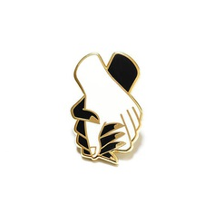 Hold Tight Enamel Pin