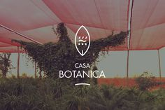 Casa Botanica identity by Fabrice Vrigny #graphic design #logo #identity #minimal #morocco