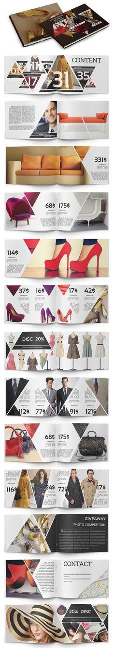 Multipurpose Product Catalogue // geometric #layout