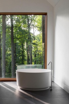 Slate House in a Maryland Forest by Ziger/Snead 9