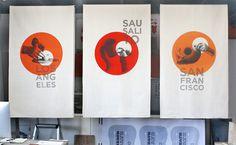 Heath Banners : Livia Foldes #ceramics #heath #design #graphic #poster