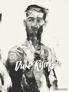 Duke Rising by Ayoub Qanir #illustration #pencil #character #drawing