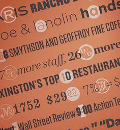 H&FJ #lettering #numerals #jones #hoefler #punctuation #frere