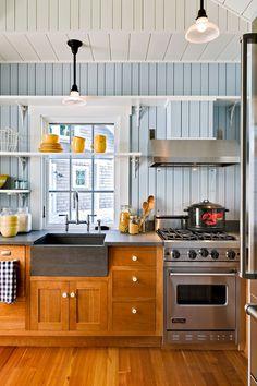 Kitchen, lavandino, legno