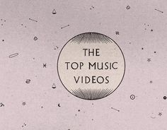 The Top Music Videos #illustration
